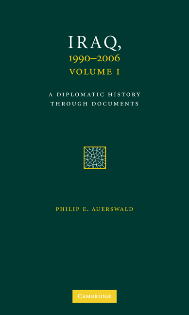 Iraq-A-Diplomatic-History-Through-Documents